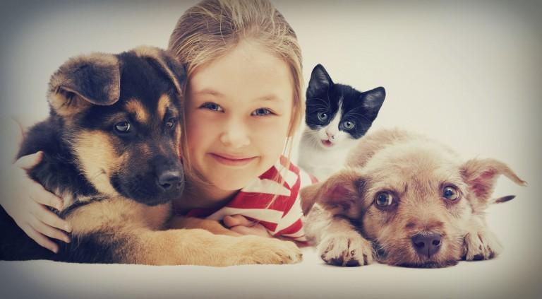 Hišni ljubljenčki in otroci